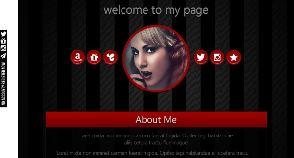Marketerbay.com: custom Chaturbate bio design Axel