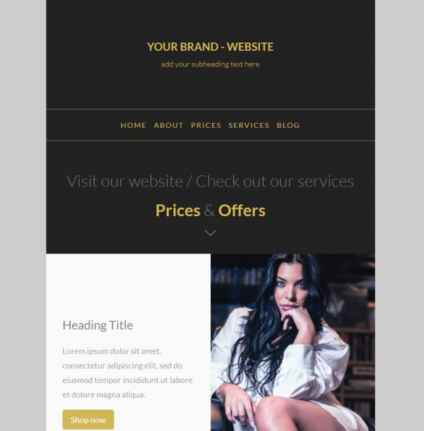 Marketerbay.com : Email template 21