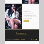 Marketerbay.com : Email template 21 - footer