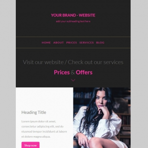 Marketerbay.com : Email Template 22 - header
