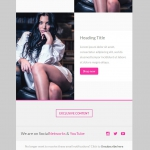 Marketerbay.com : Email Template 23 - footer