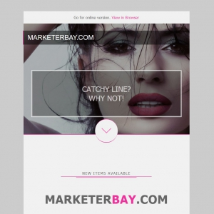 Marketerbay.com : Email template 26 - header