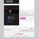 Marketerbay.com : Email template 26 - footer