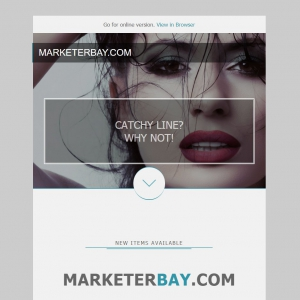 Marketerbay.com : Email Template 27 - header