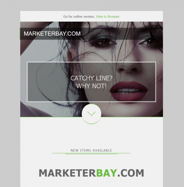 Marketerbay.com : Email Template 28 - header