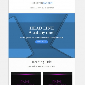 Marketerbay.com : Email Template 29 - header
