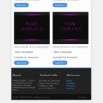 Marketerbay.com : Email Template 29 - footer