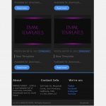 Marketerbay.com : Email Template 30 - footer