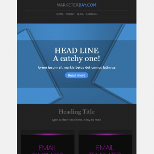 Marketerbay.com : Email Template 30 - header