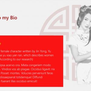 Marketerbay.com : Yu Yan Chaturbate bio design