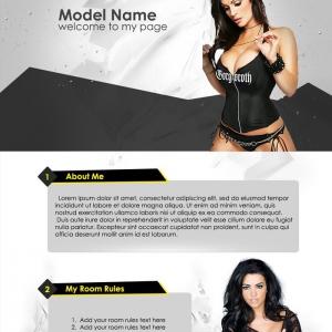 Marketerbay.com : PSD Template Chaturbate - Meg 35