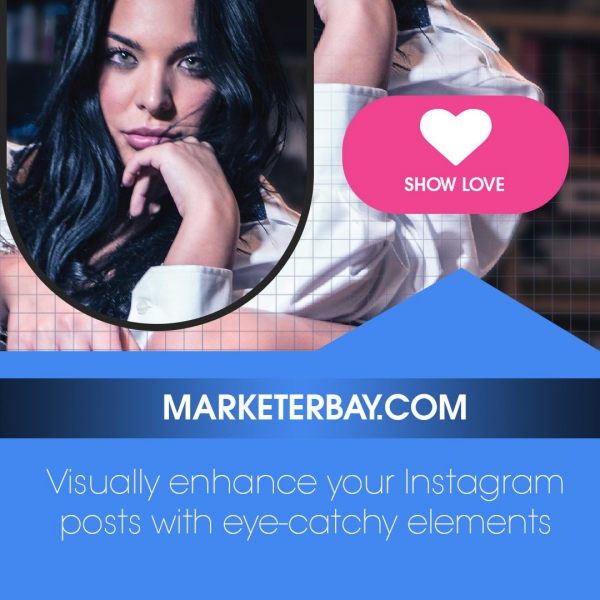 Marketerbay.com : PSD Instagram template Post 23