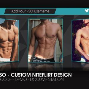 Marketerbay.com : NiteFlirt Bio design 26 for Male PSOs