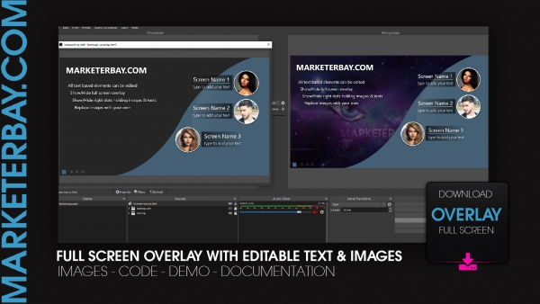Marketerbay.com : Group overlay with editable content