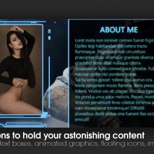 Gamer Theme - Chaturbate design from Marketerbay.com