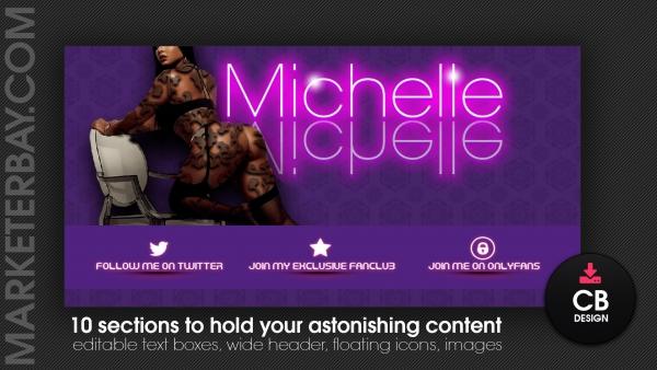 Marketerbay.com : Michelle Chaturbate design