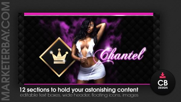 Marketerbay.com : Chantel Chaturbate bio design