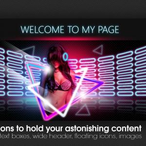 Marketerbay.com : ClubGirl Chaturbate design - Exclusive