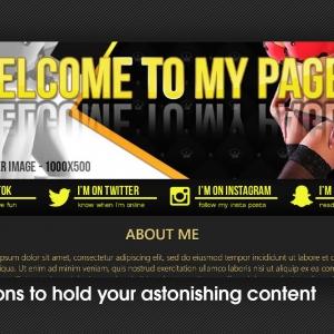 Marketerbay.com : Tatiana BongaCams profile design