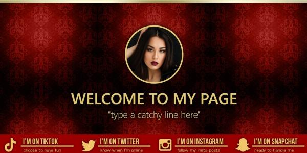 Marketerbay.com : Lorena BongaCams profile design
