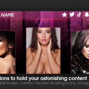 Marketerbay.com : Anika custom Chaturbate profile design